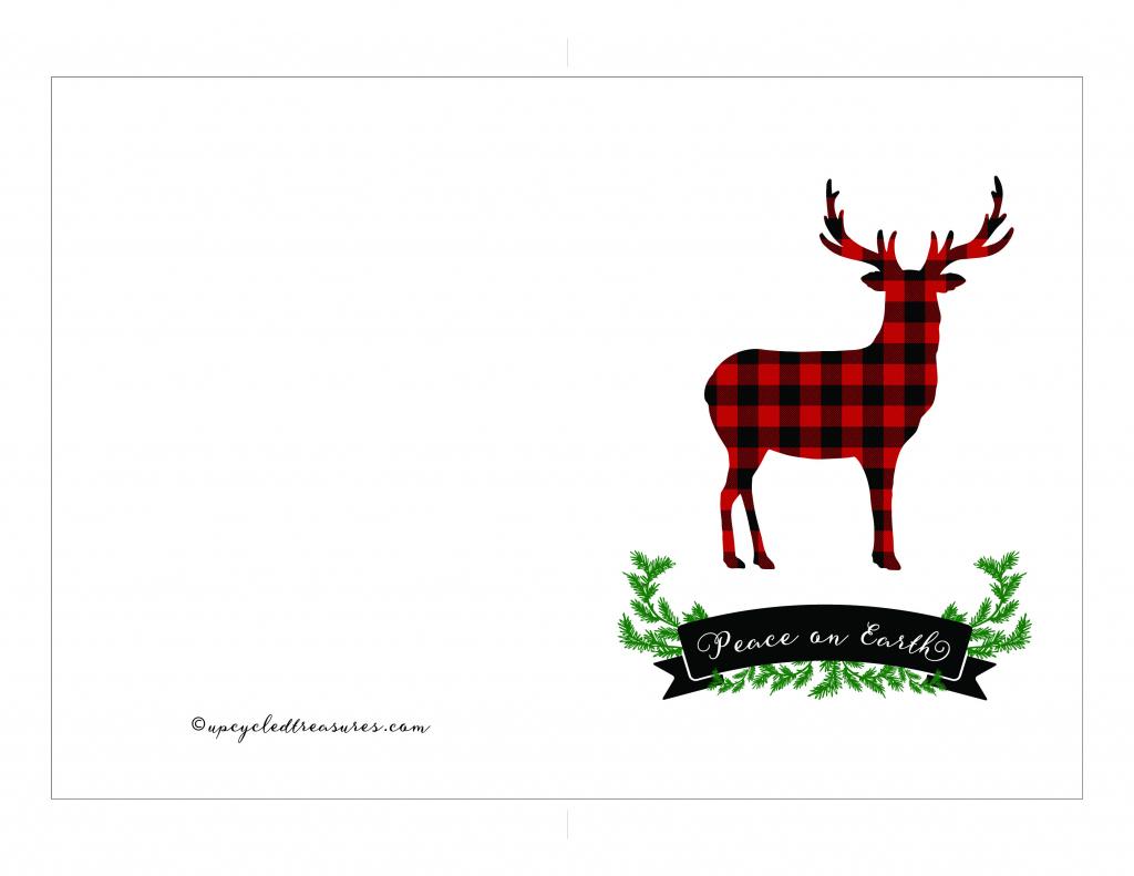 Free Printable Holiday Cards | Mountain Modern Life | Free Printable Photo Christmas Cards