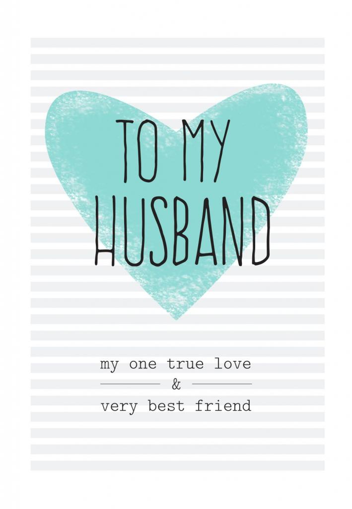 Free Printable Husband Greeting Card | Diy | Free Birthday Card | Free Printable Greeting Card Sentiments