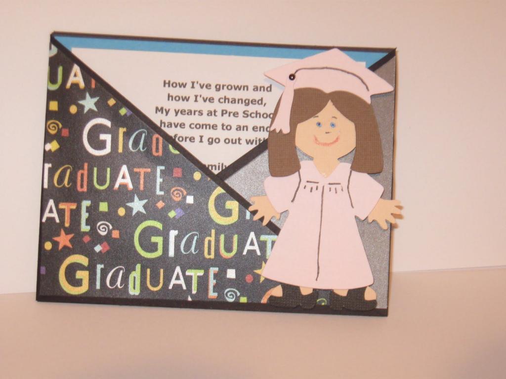 Free Printable Kindergarten Graduation Announcements. Graduation | Printable Preschool Graduation Card