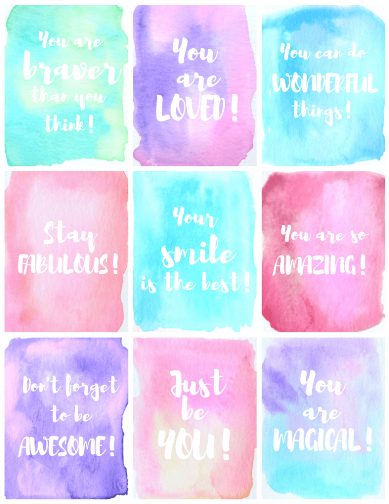 Free Printable Kindness Cards - Kid + Kin | Printable Compliment Cards For Students