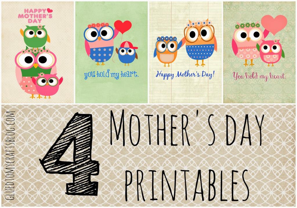 Free Printable Mother's Day Cards (Pdf)   Cisdem   Free Printable Mothers Day Cards To My Wife