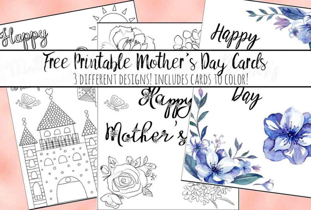 Free Printable Mother's Day Cards (Some Of Them You Can Color!)   Printable Mothers Day Bingo Cards