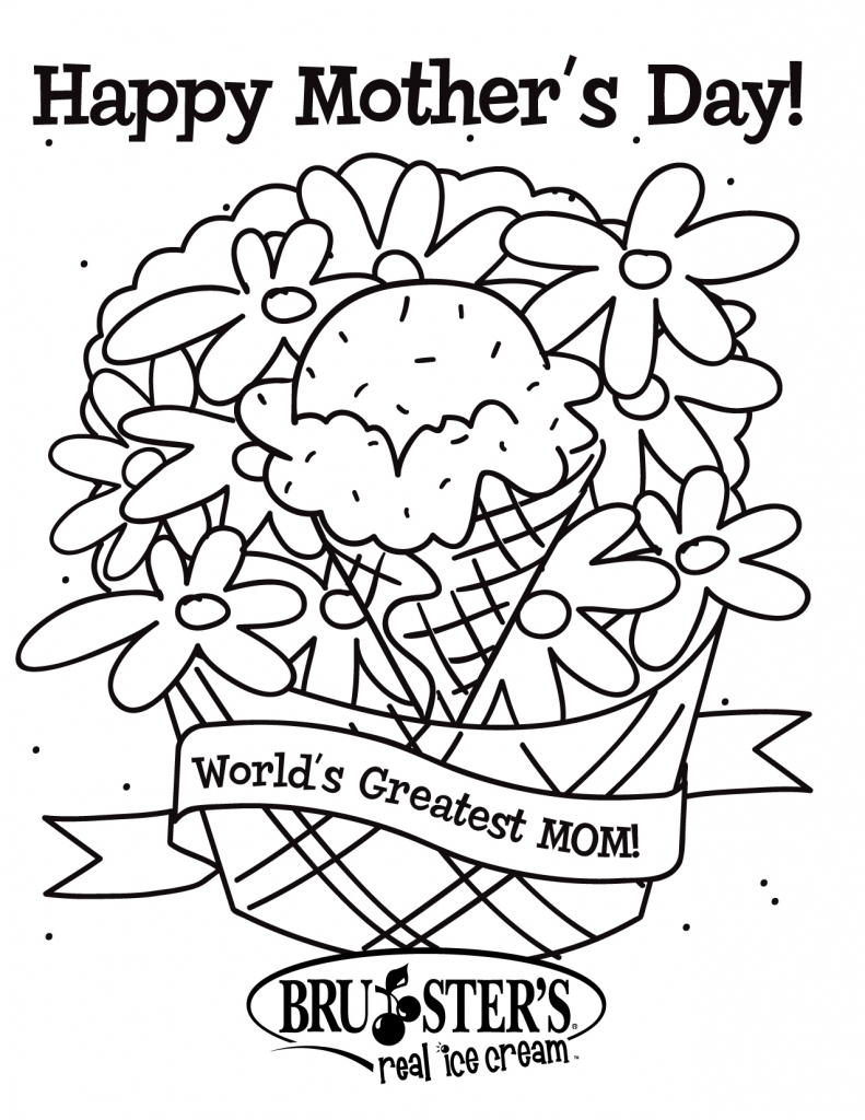 Free Printable Mothers Day Coloring Pages For Kids | Free Printable Mothers Day Coloring Cards