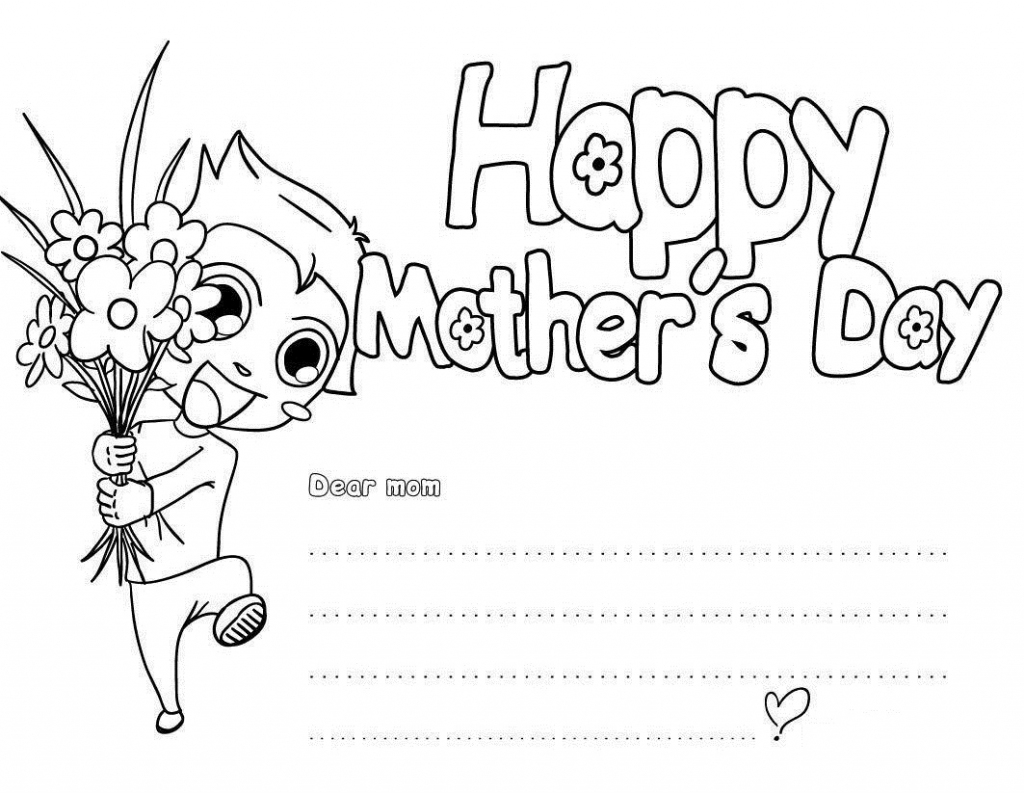 Free Printable Mothers Day Coloring Pages For Kids   Printable Mothers Day Cards For Kids To Color