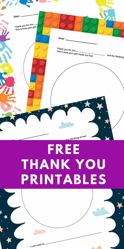 Free Printable Personalized Thank You Cards - Homemade Thank You   Free Personalized Thank You Cards Printable