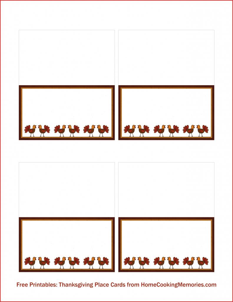 Free Printable Place Card Templates Christmas | Free Printables | Free Printable Place Cards Template