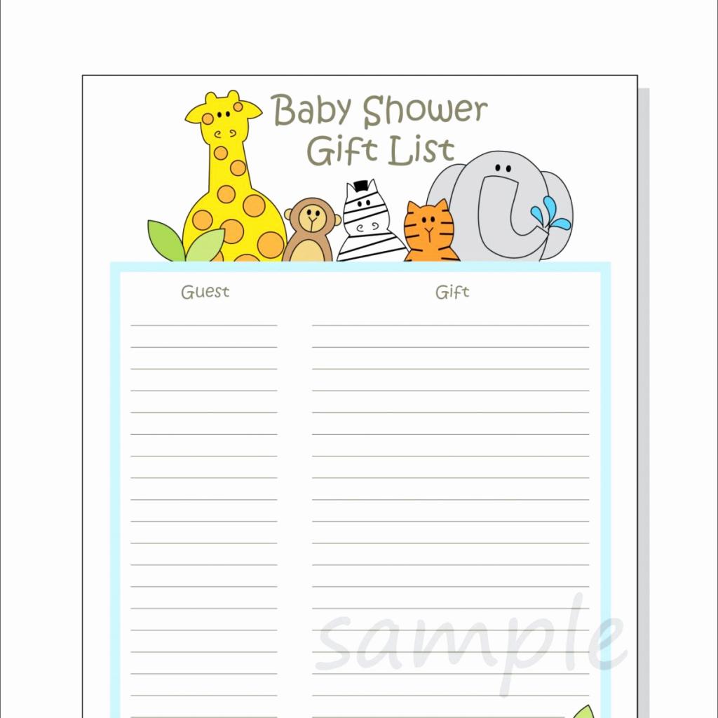 Free Printable Registry Cards - Kleo.bergdorfbib.co | Free Printable Baby Registry Cards