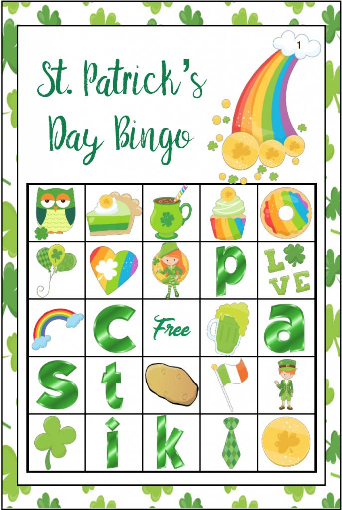 Free Printable St. Patrick's Day Bingo: 40 Cards   Printable Mothers Day Bingo Cards