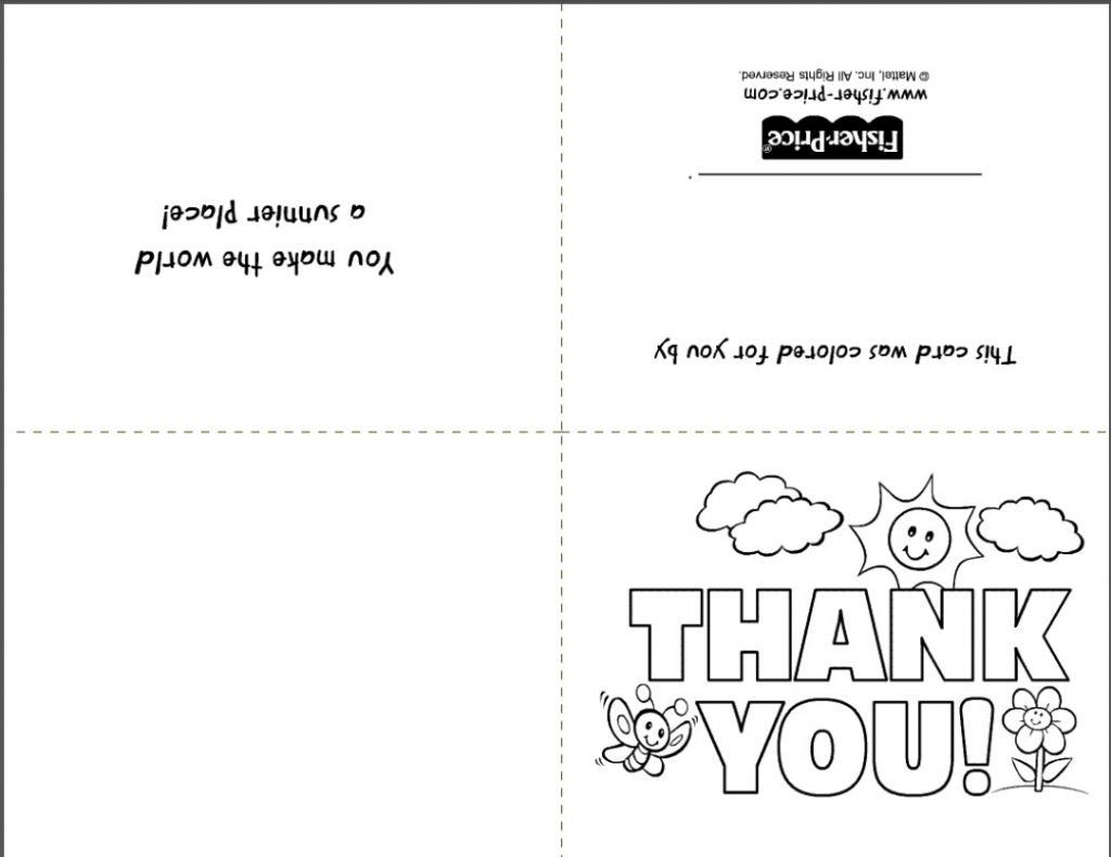 Free Printable Stationery- Websites For Downloading Nice Free Stationery   Printable Thank You Cards To Color