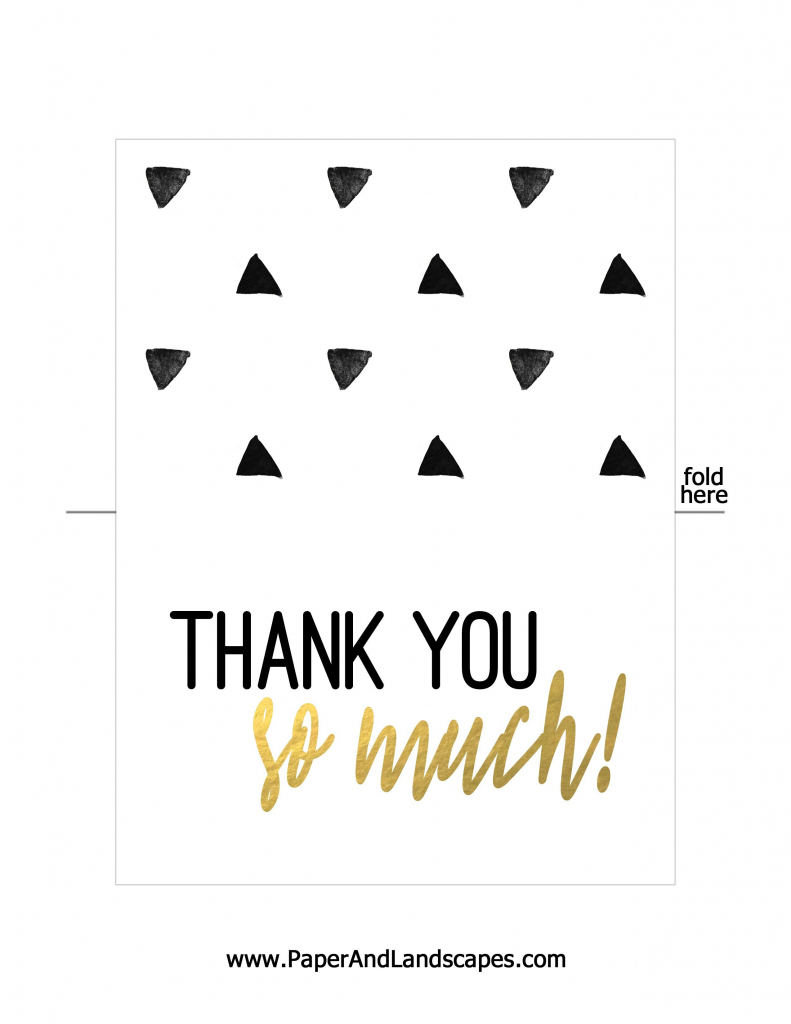 Free Printable Thank You Cards   Messenges - Free Printable Thank   Free Printable Thank You Cards