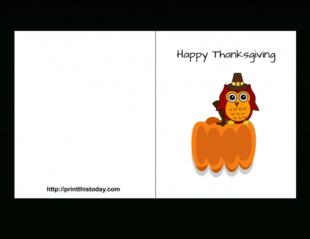 Free Printable Thanksgiving Cards | Happy Thanksgiving Cards Free Printable