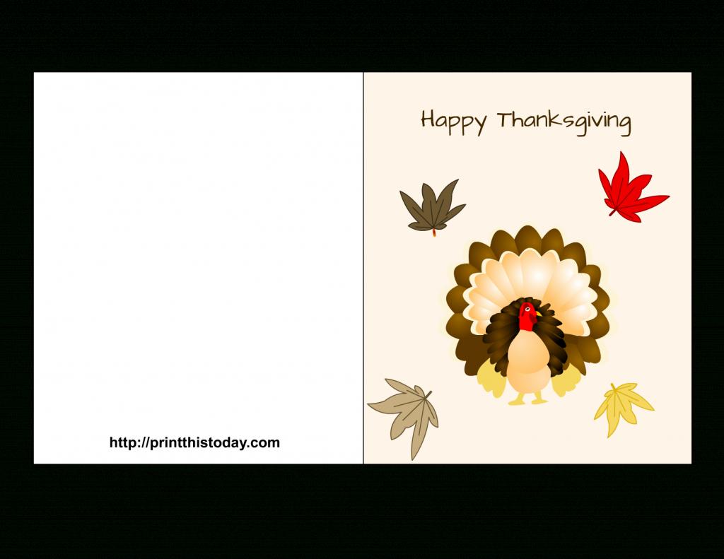 Free Printable Thanksgiving Cards | Thanksgiving Printable Greeting Cards