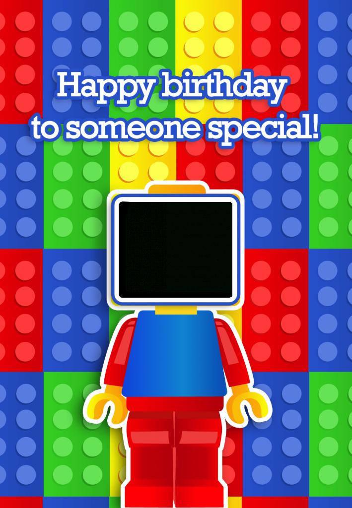"Free Printable ""to Someone Special"" Birthday Greeting Card, With An | Ninjago Printable Birthday Card"