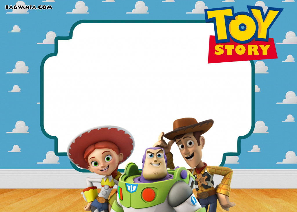 Free Printable Toy Story 3 Birthday Invitations   Free Printable   Toy Story Birthday Card Printable Free