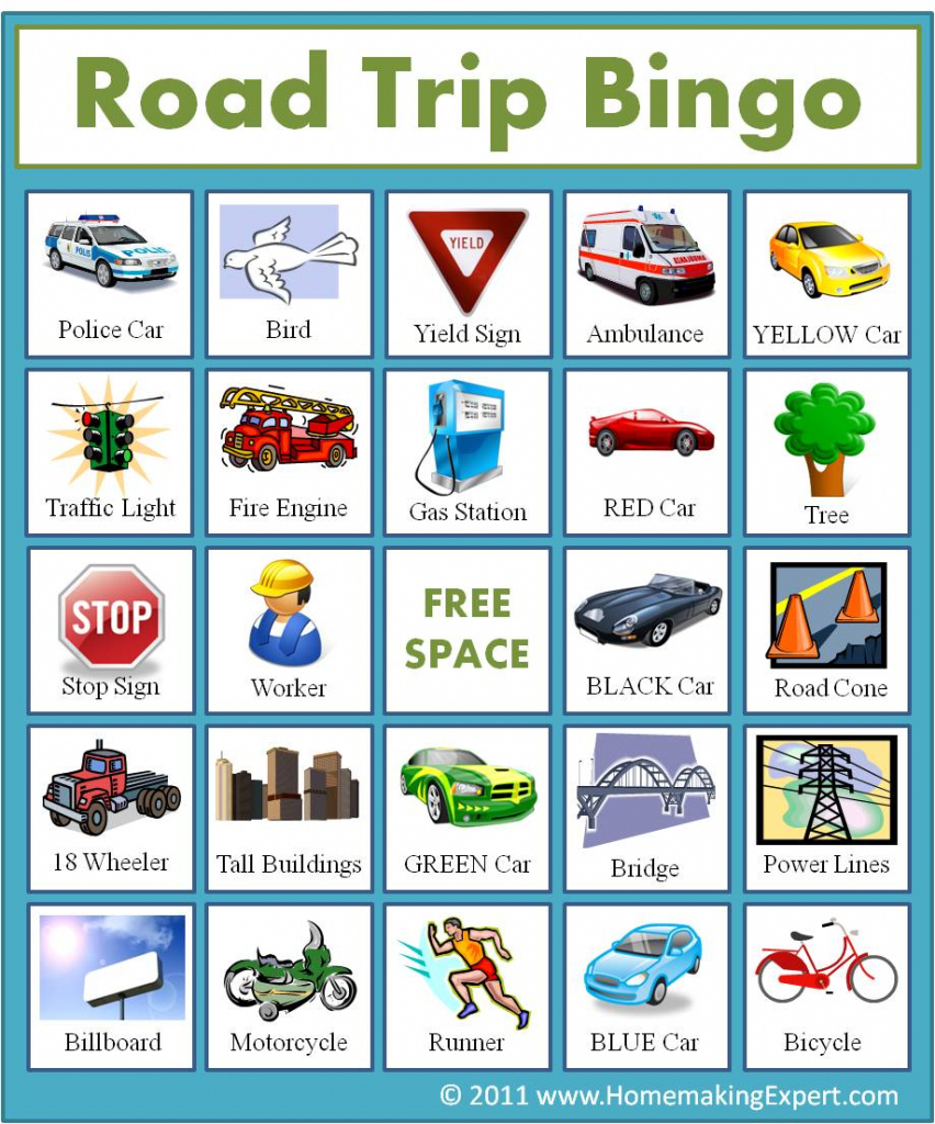 Free: Printable Travel Bingo Cards For Kids   Frugal York County   Printable Picture Bingo Cards For Kids