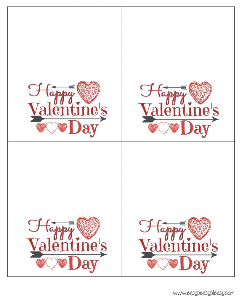 Free Printable Valentine Cards For Husband - Printable Cards | Printable Valentine Cards For Husband