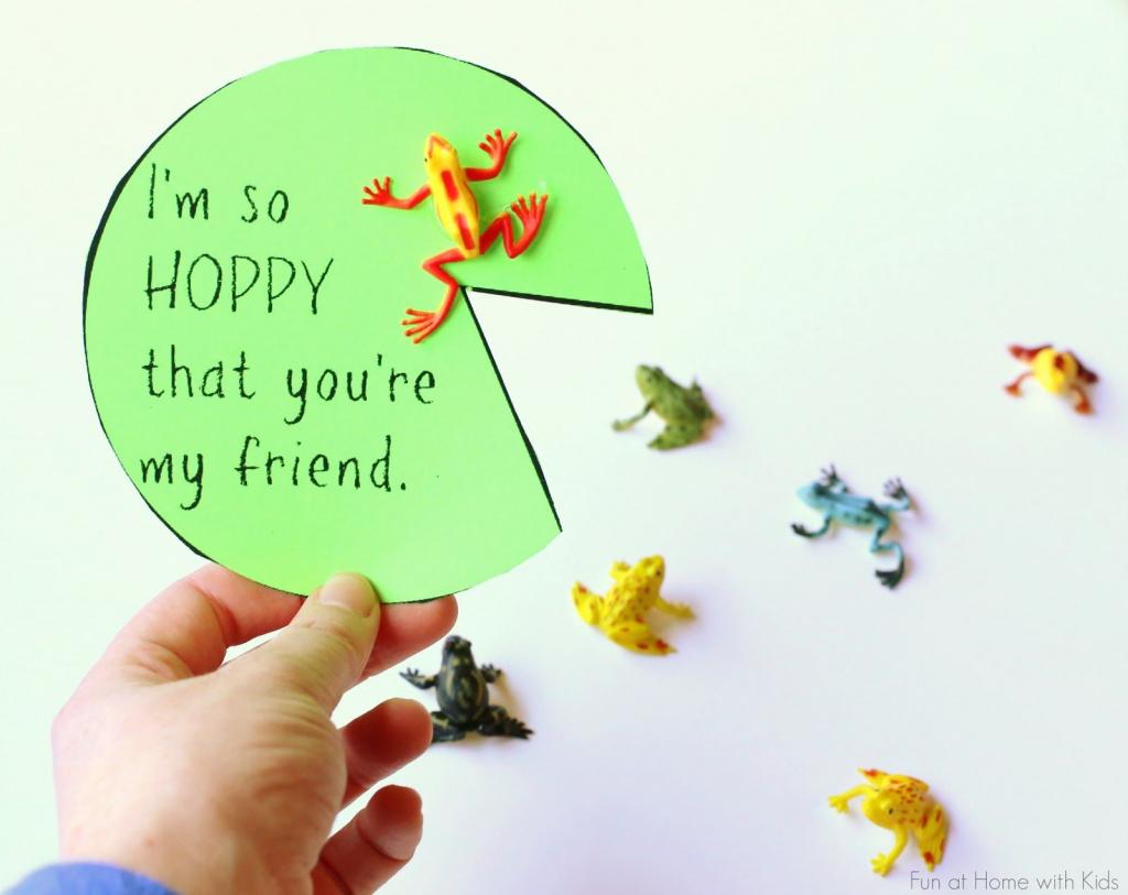 Free Printable Valentine's Day Friendship Card | Kindergarten Winter | Printable Friendship Cards Friends