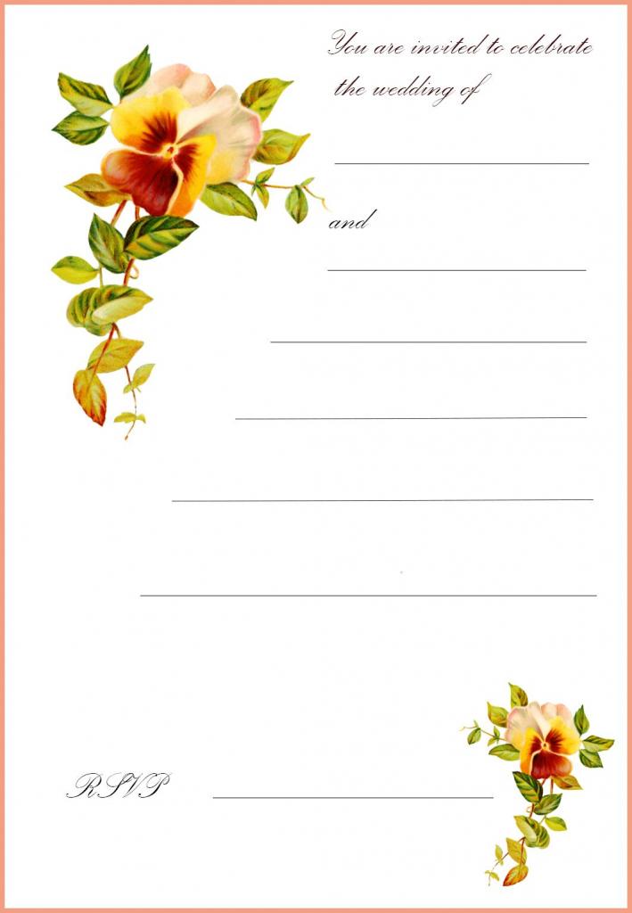 Free Printable Wedding Clip Art | Go To The Top Of This Page Free | Free Printable Wedding Cards
