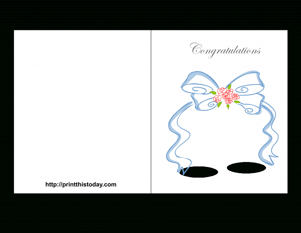 Free Printable Wedding Congratulations Cards | Free Printable Wedding Cards