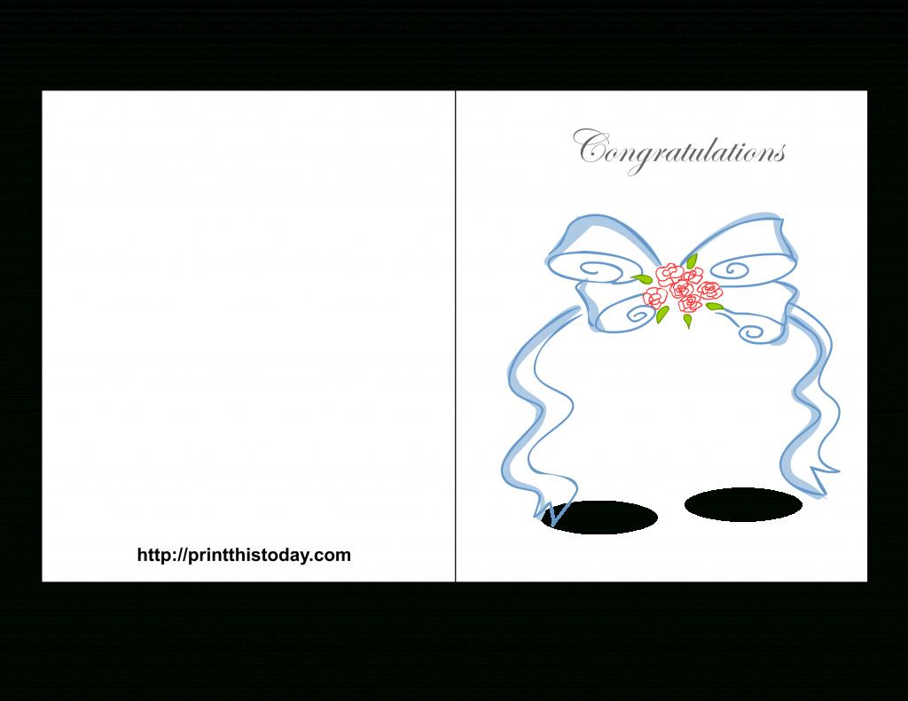 Free Printable Wedding Congratulations Cards | Wedding Wish Cards Printable Free
