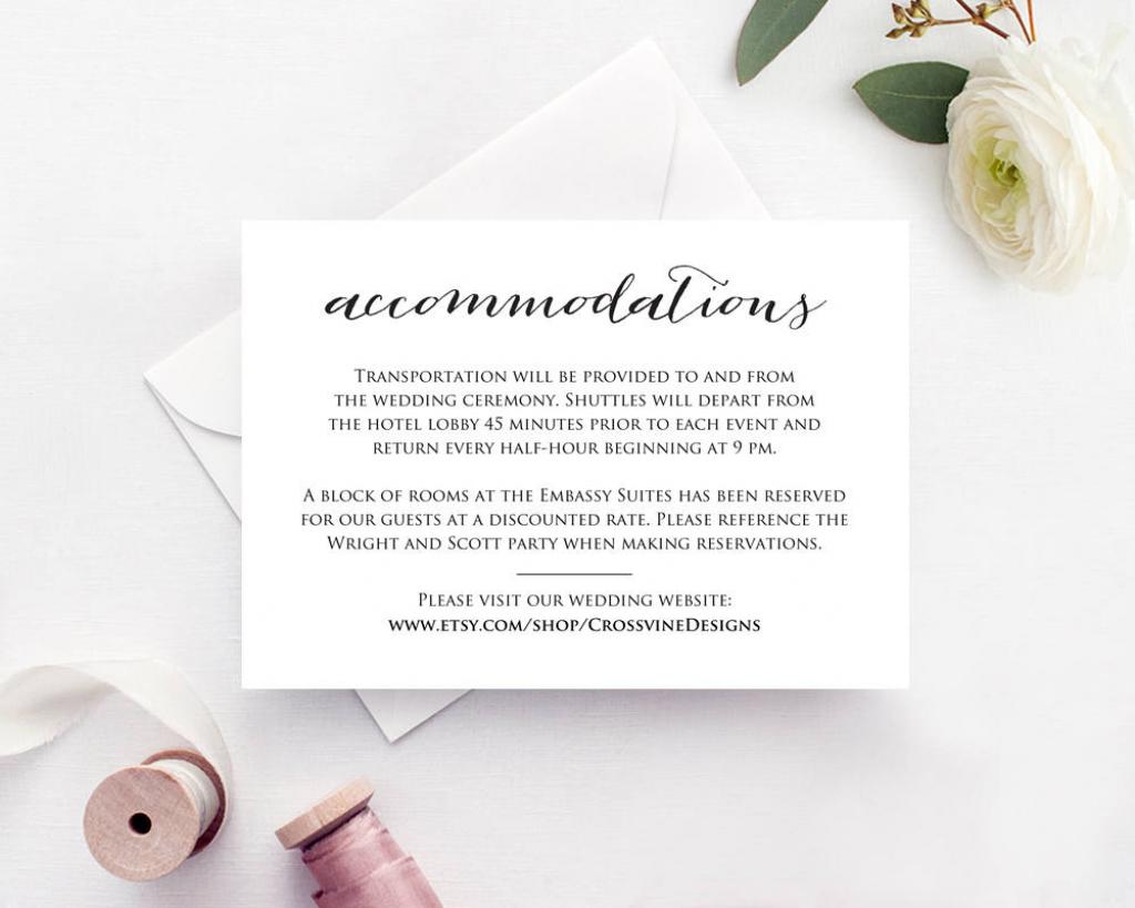 Free Printable Wedding Inserts | Free Printables | Free Printable Enclosure Cards