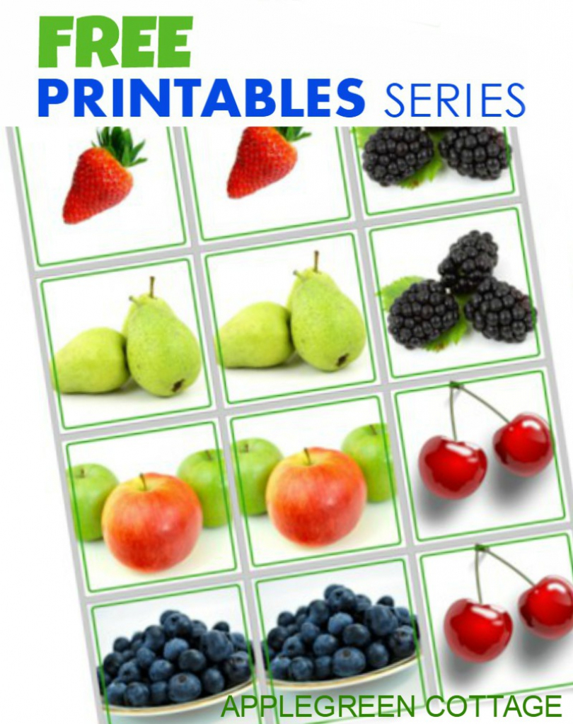 Free Printables Series For Kids - Memory Game - Applegreen Cottage | Free Printable Matching Cards