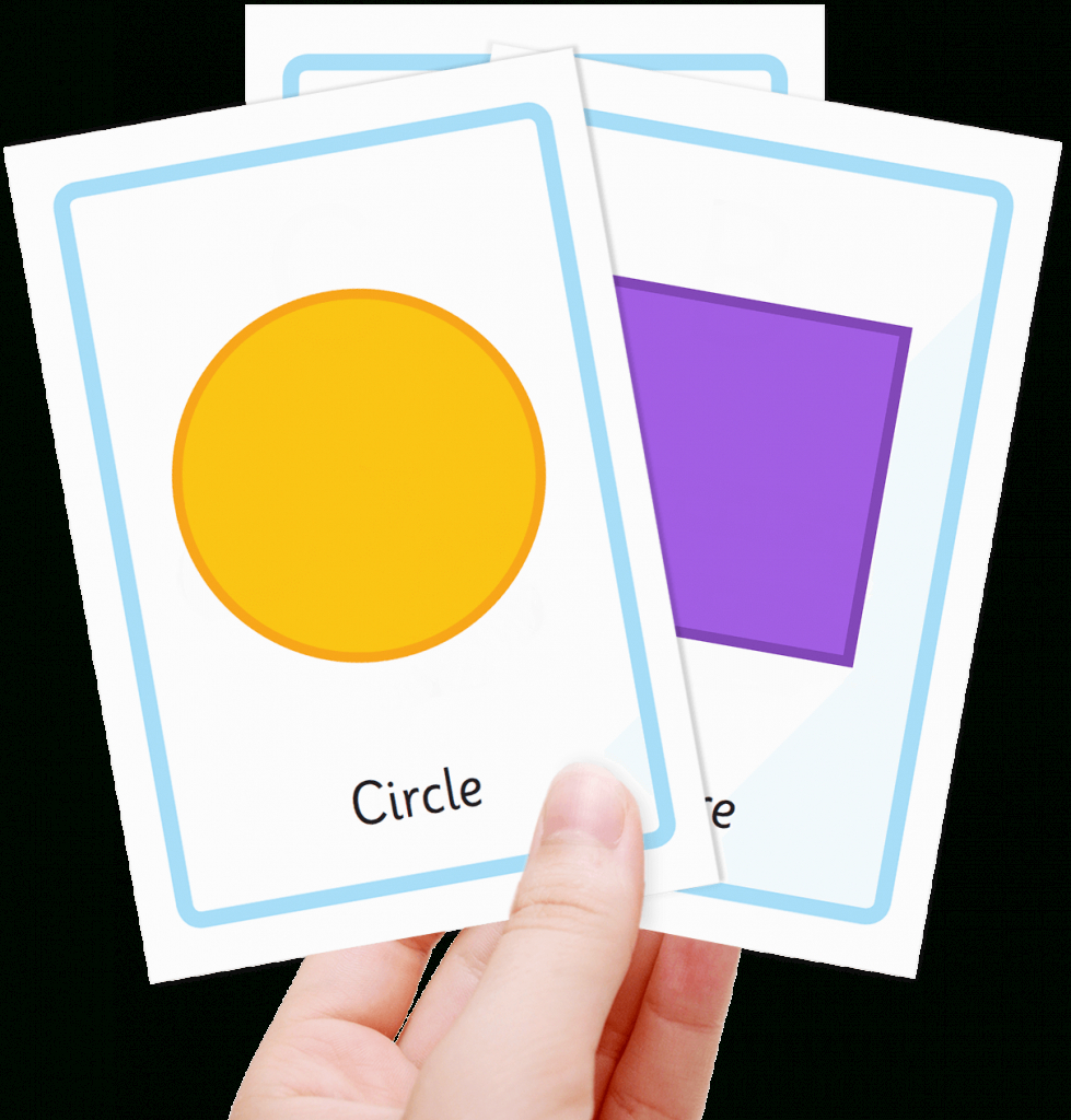 Free Shape Flashcards For Kids - Totcards   Printable Shapes Flash Cards