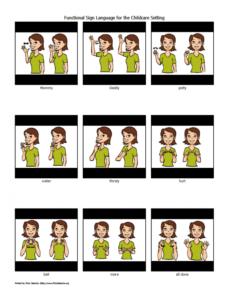 Free Sign Language Printables | Wordsofhisheart | Sign Language Flash Cards Free Printable
