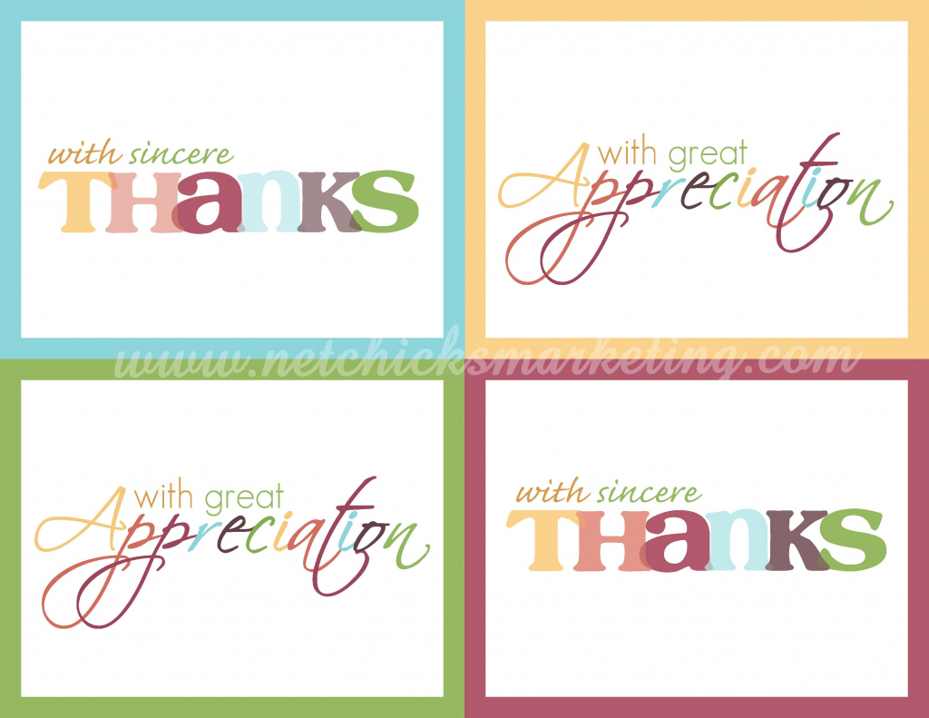 Free Thank You Cards #printable | Digi Freebies | Printable Thank | Free Printable Volunteer Thank You Cards