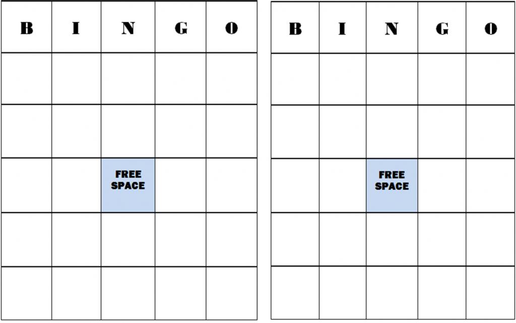 Free+Blank+Bingo+Card+Template | Classroom Stuff | Bingo Card | Free Printable Blank Bingo Cards