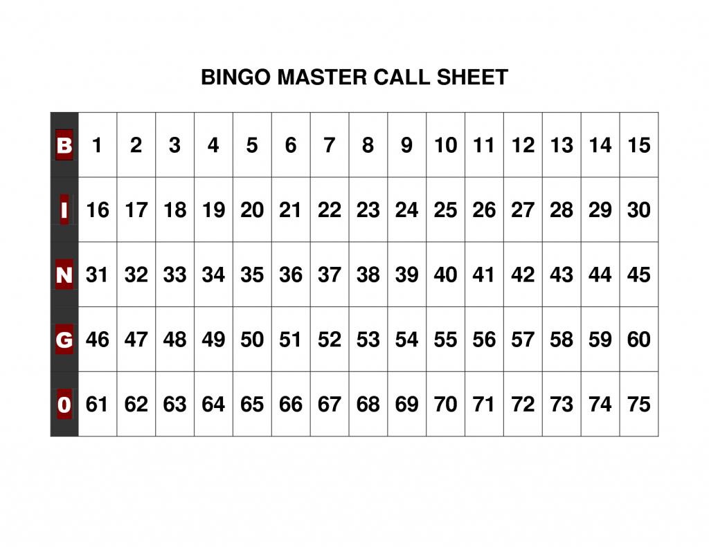 Free+Printable+Bingo+Call+Sheet   Bingo   Bingo Calls, Bingo Cards   Free Printable Bingo Cards 1 100