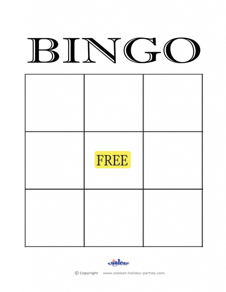 Free+Printable+Blank+Bingo+Cards+Template | Finance | Bingo Card | Free Printable Blank Bingo Cards