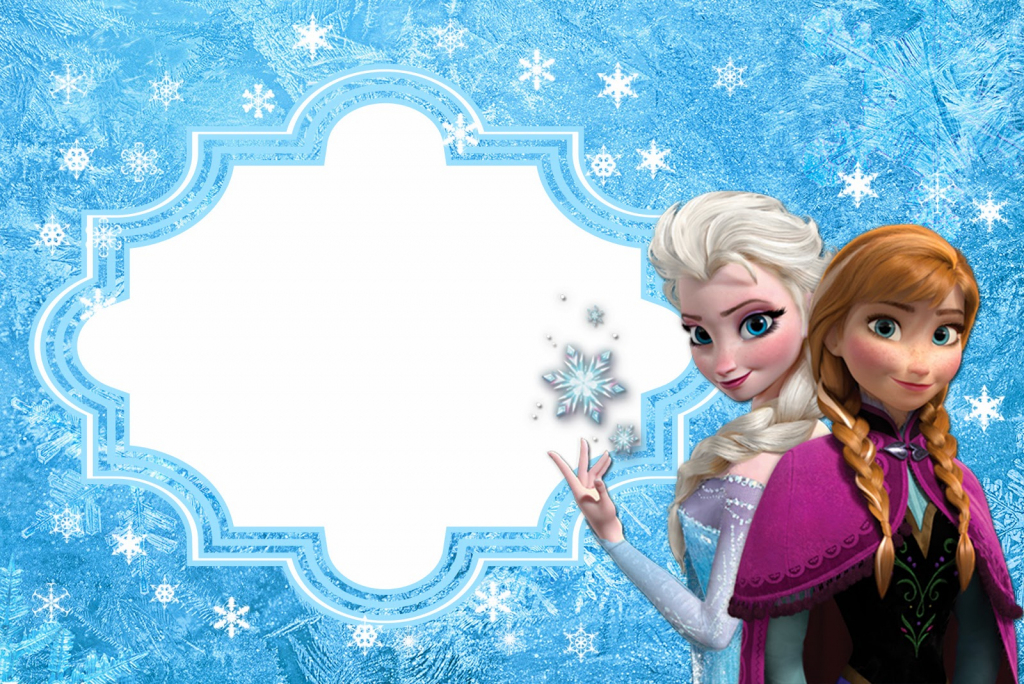 Frozen: Free Printable Cards Or Party Invitations. | Oh My Fiesta | Disney Frozen Thank You Cards Printable
