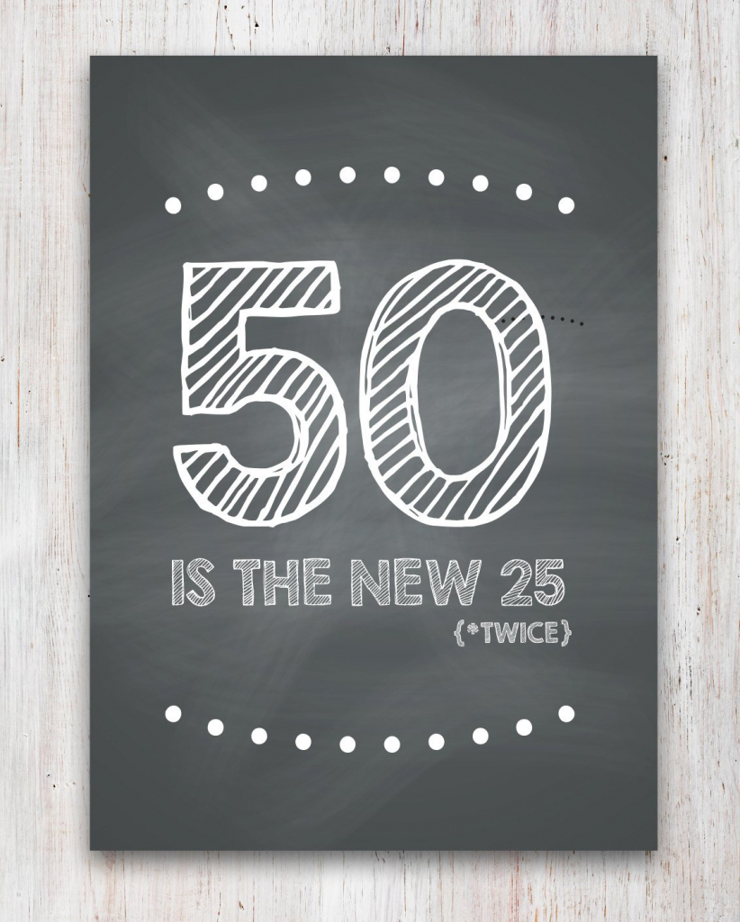 Funny 50Th Birthday Card Printable | Etsy | Free Printable 50Th Birthday Cards Funny