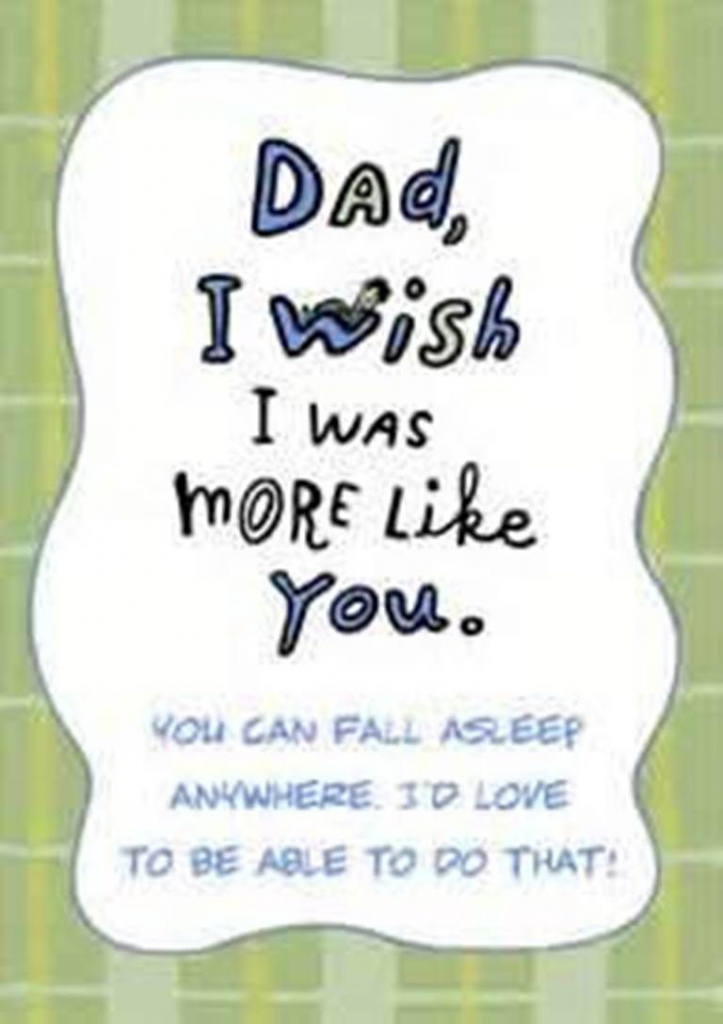 Funny Birthday Card Message – Gangcraft | Diy | Dad Birthday | Funny Birthday Cards For Dad From Daughter Printable