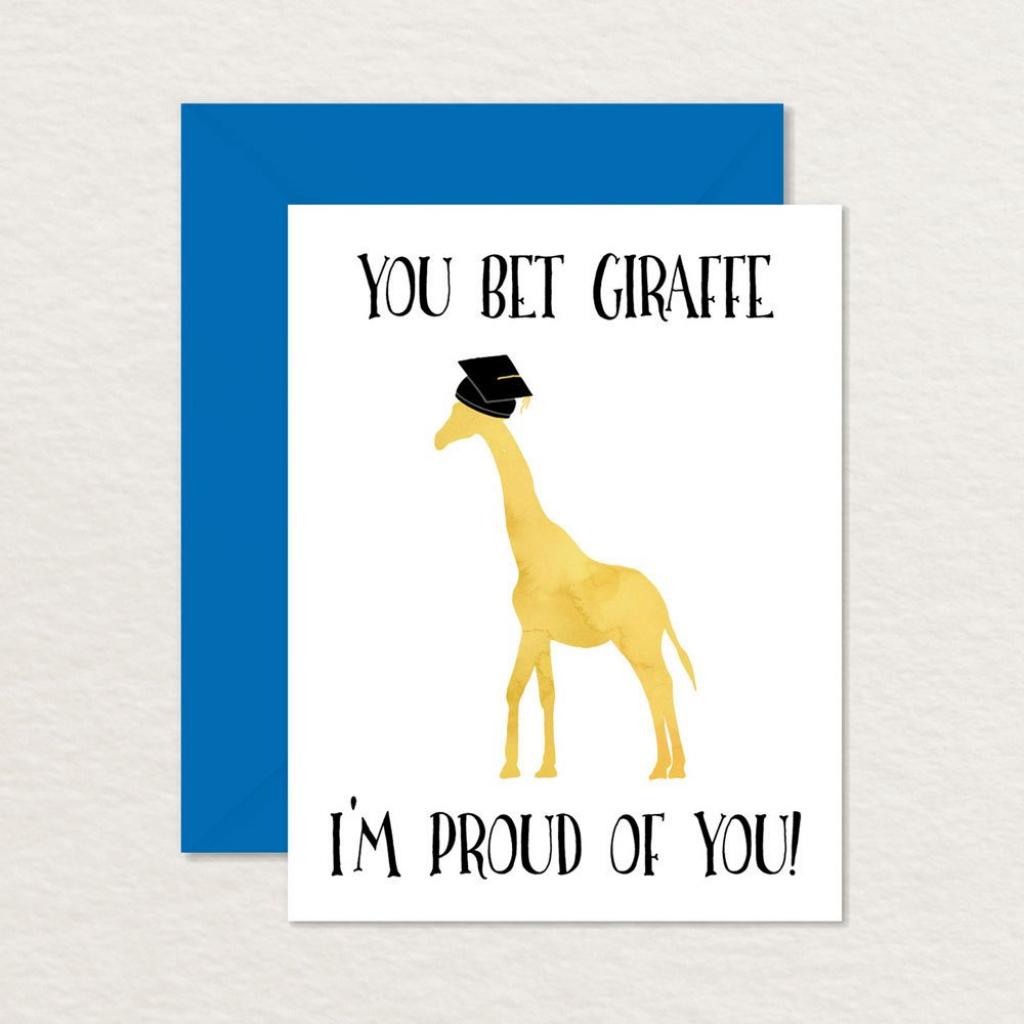 Funny Graduation Card / Printable Graduation Card / Funny | Etsy | Cute Graduation Cards Printable