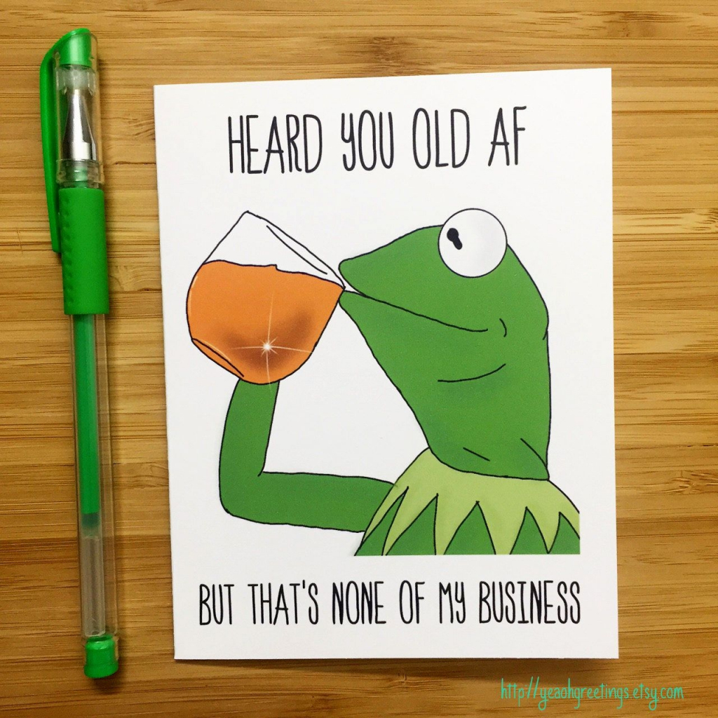 Funny Printable Birthday Cards – Happy Holidays!   Funny 18Th Birthday Cards Printable