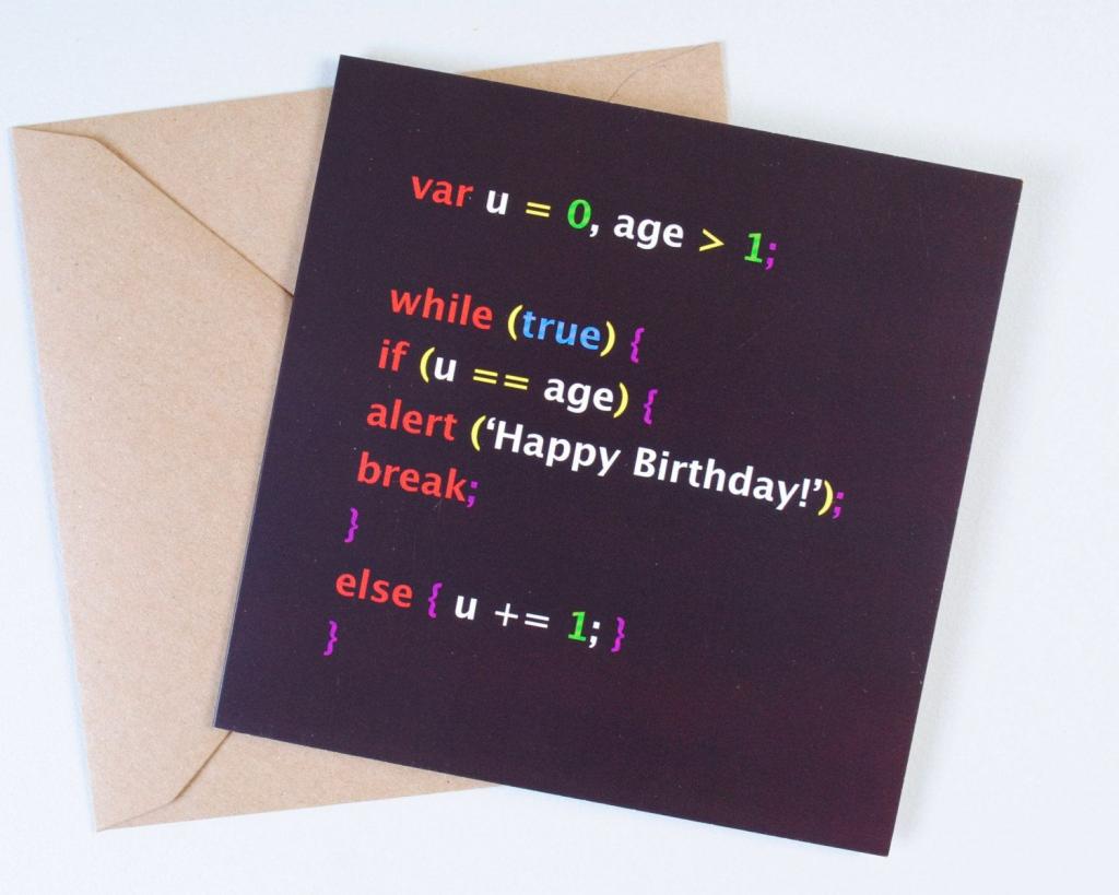 Geek Birthday Card For Your Nerdie Friends | Birthday Gifts On Etsy | Nerdy Birthday Cards Printable