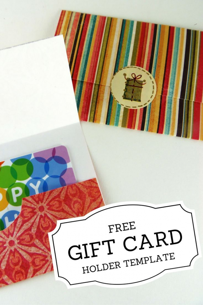 Gift Card Holder Templates   Printables   Printable Gift Cards   Free Printable Christmas Money Holder Cards