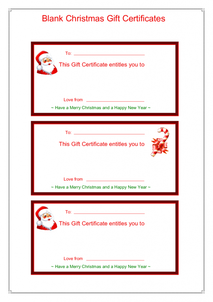 Gift Card Template - Edit, Fill, Sign Online   Handypdf   Printable Gift Card Template