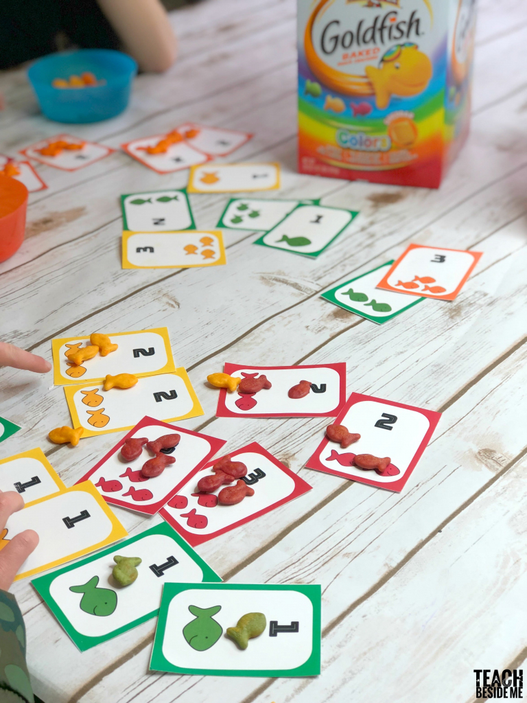 Go Fish Printable Card Game With Goldfish – Teach Beside Me   Printable Go Fish Cards