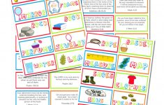 Go On A Scripture Memory Scavenger Hunt As A Family ~ Talking Mom2Mom | Scripture Memory Cards Printable