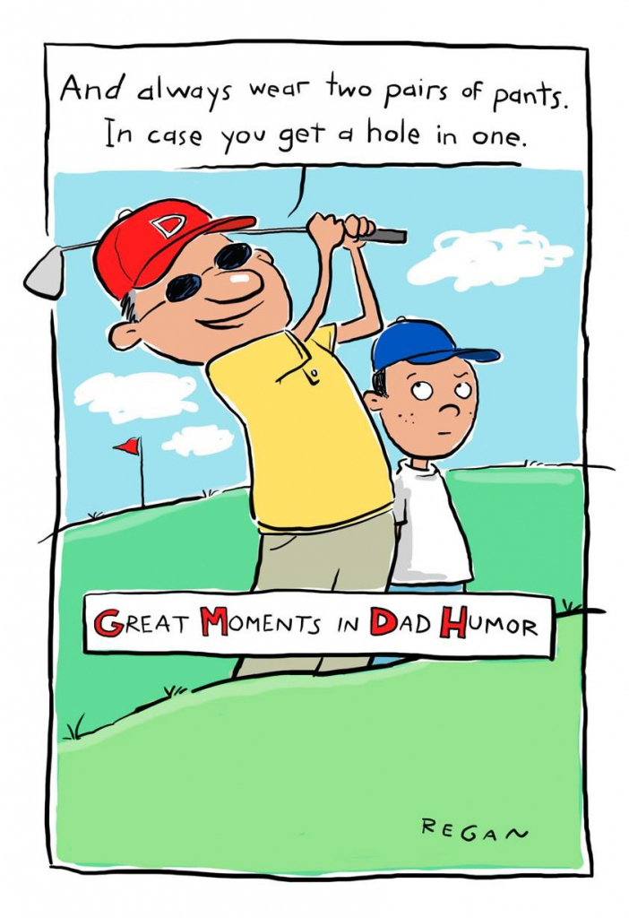Golf Humor Funny Father's Day Card - Greeting Cards - Hallmark | Hallmark Free Printable Fathers Day Cards