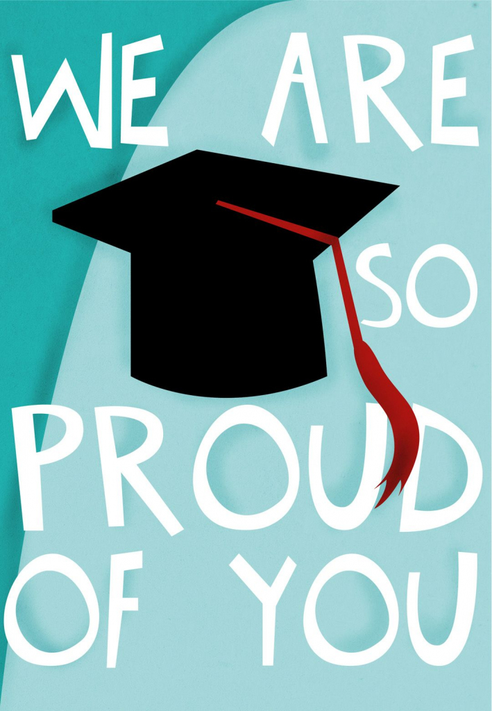 Graduation Card - Free #printable - We Are So Proud Of You | Cute Graduation Cards Printable
