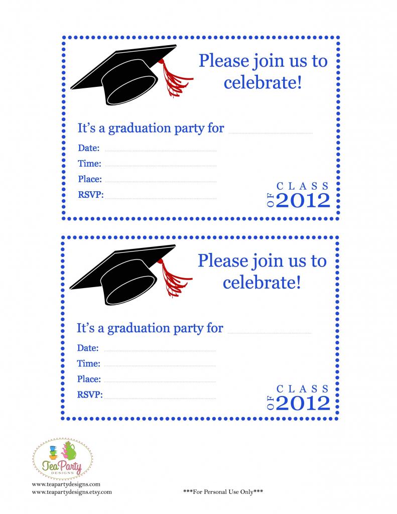 Graduation Cards Printable - Under.bergdorfbib.co | Printable Preschool Graduation Card