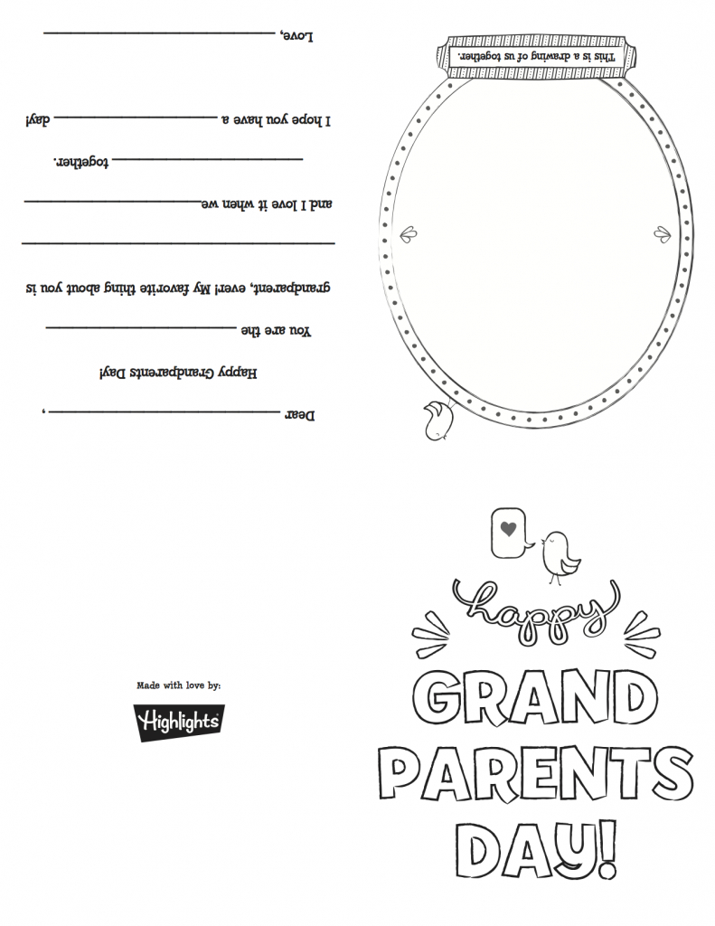 Grandparentsdaycard_Copy | Grandparents Day | Grandparents Day | Grandparents Day Cards Printable