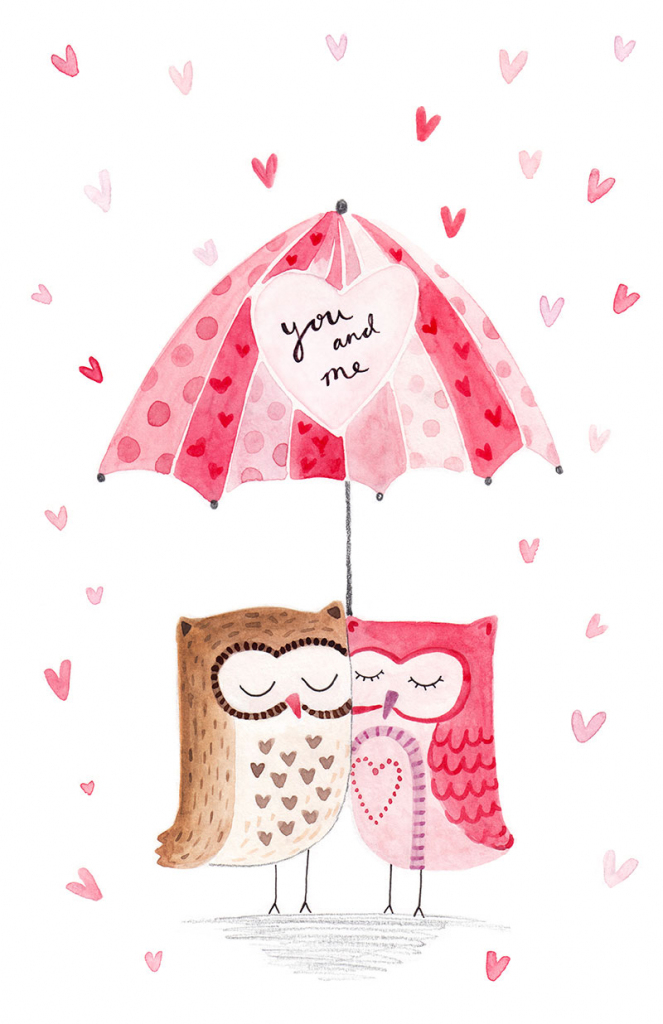 Greeting Cards - Valentines Cards - Felicity French Illustration | Printable French Valentines Cards