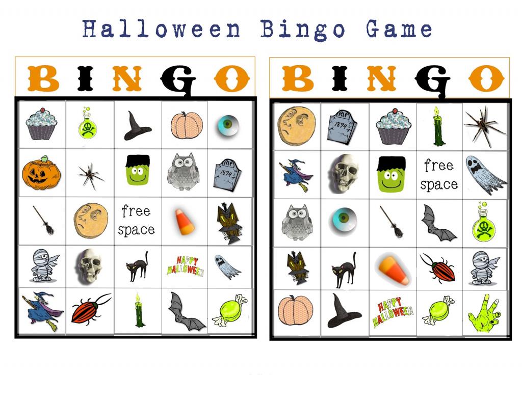Halloween Bingo Card Creator Halloween Bingo Preschool Printables 11 | Printable Halloween Bingo Cards For Classroom