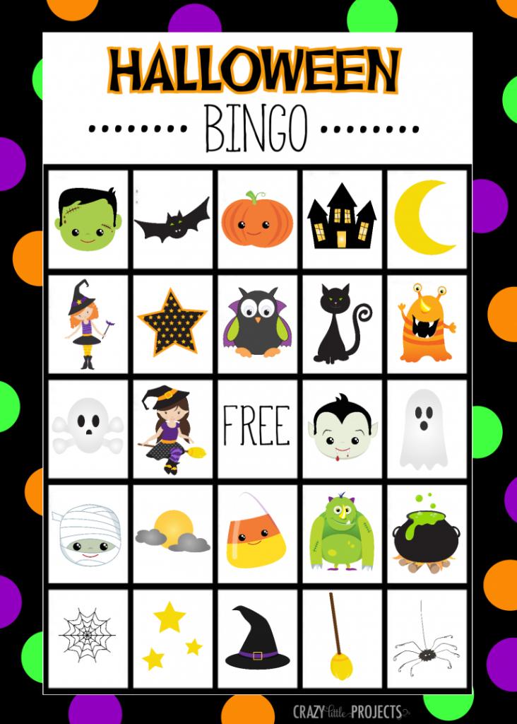Halloween Bingo - Cute Free Printable Game | Crafts/projects | Fun Printable Halloween Bingo Cards