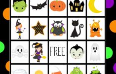 Halloween Bingo – Cute Free Printable Game – Fun-Squared | Cute Printable Halloween Cards